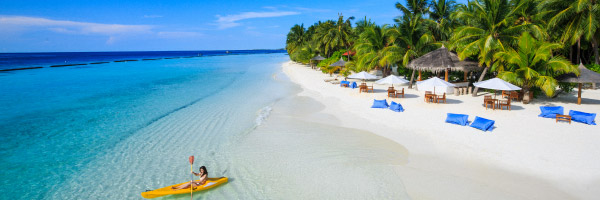Kurumba beach kayaking
