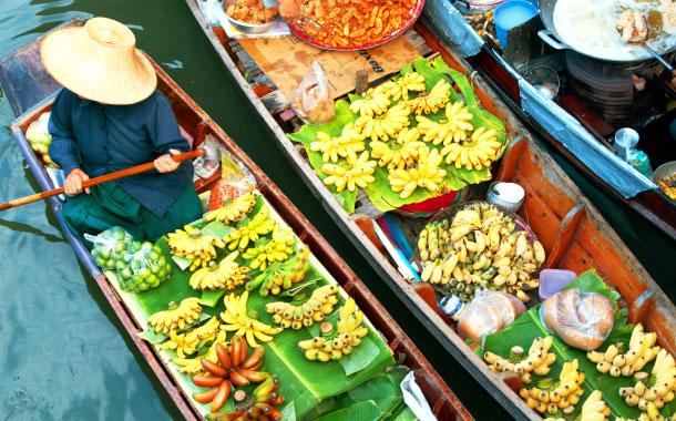 12 Floating Markets of Bangkok