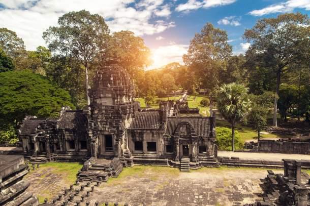Ancient Buddhist Khmer Temple