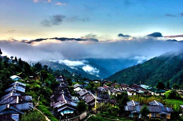 Beautiful landscape of Arunachal Pradesh
