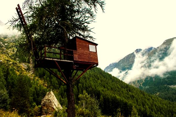 Best treehouses in India