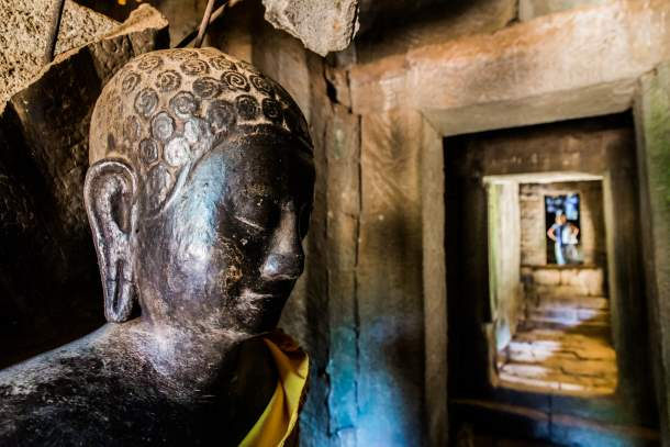 Buddha statue, Angkor Wat Temple