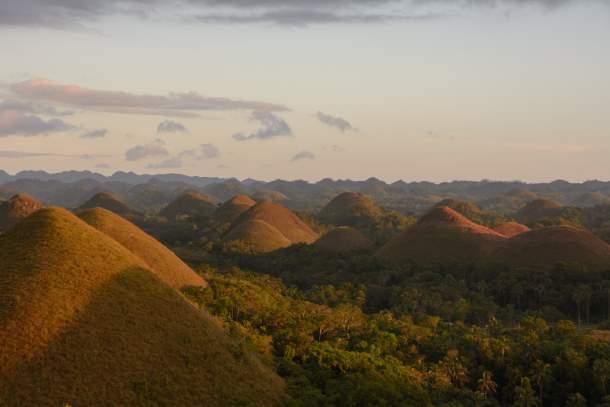 Chocolate Hills of Bohol Island