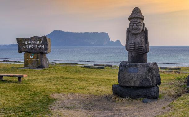 Dol hareubang statue, Jeju Island