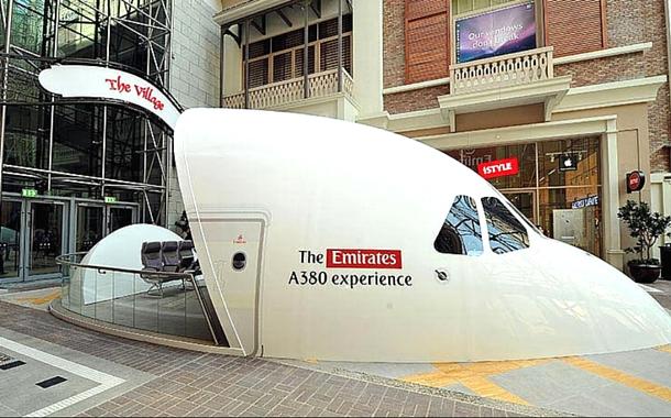 Emirates 380 Simulator, Dubai Mall