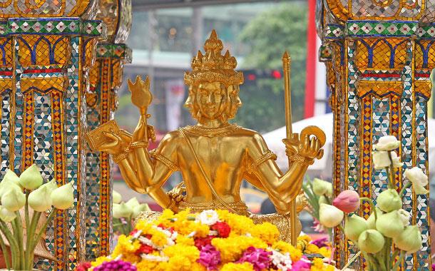 Erawan Shrine - Bangkok, Thailand