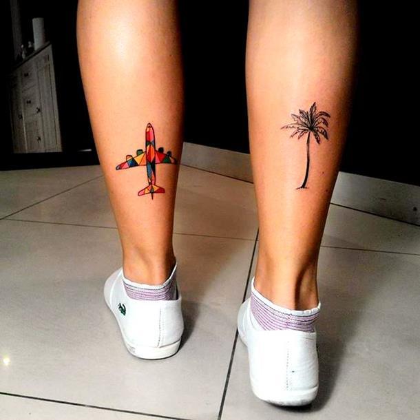 flight tattoo