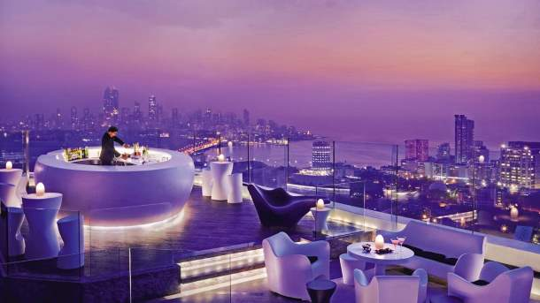 Four Seasons, rooftop bar, Mumbai