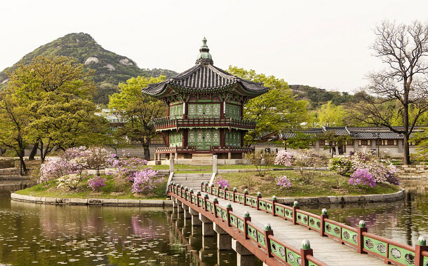 Fragrance Pagoda in Seoul, South Korea