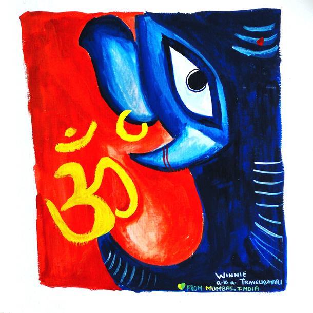 Ganesha, the elephant God