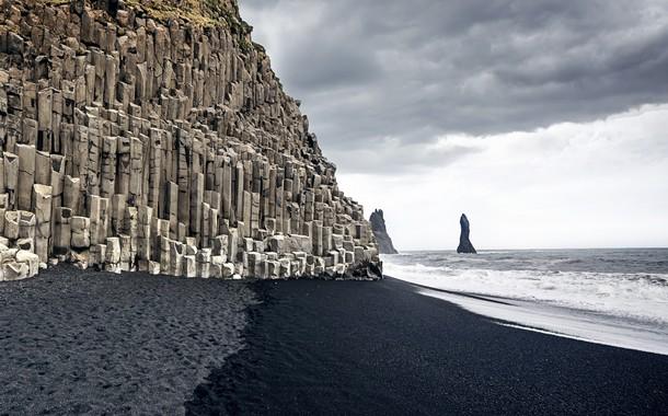 Giants Causeway Beach, Iceland