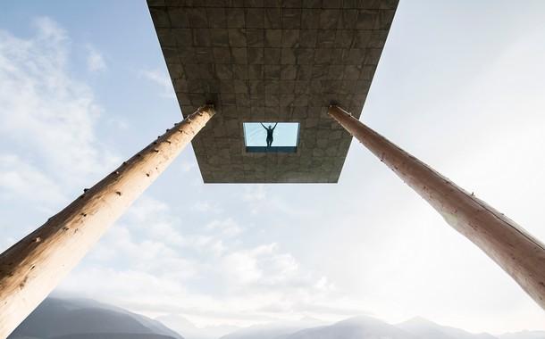 Hotel Hubertus Sky Pool in Italy
