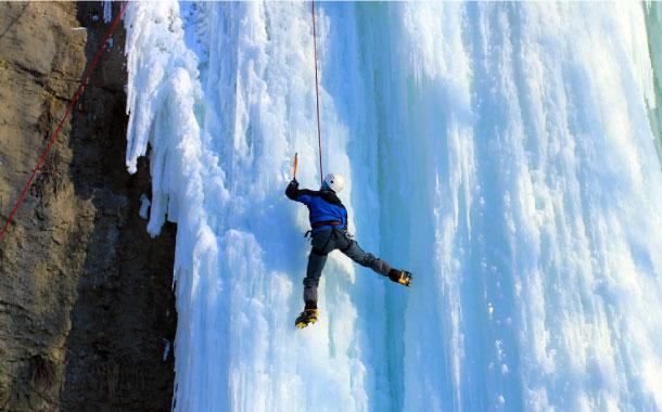 Ice Climbing in India