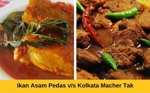Ikan Asam Pedas v/s Kolkata Macher Tak