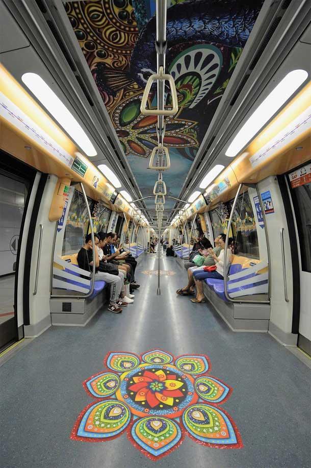 Inside the Singapore Metro