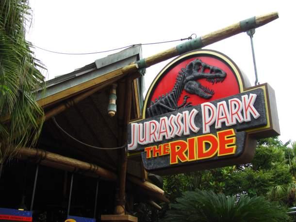 Jurassic Park The Ride at Universal Studios, Japan