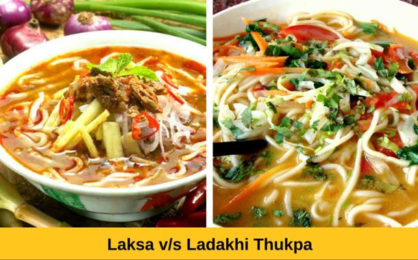 Laksa vs Ladakhi Thukpa