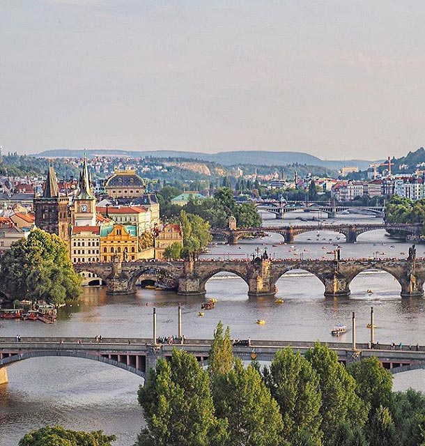 Letenské Sady, Prague