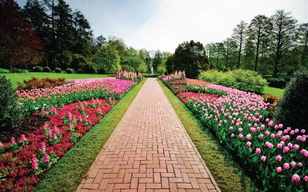 Longwood Gardens in USA