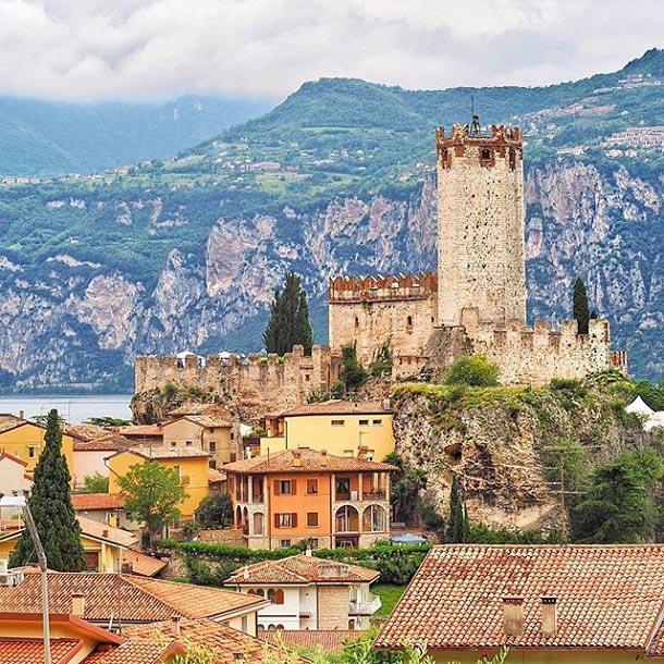 Malcesine Castle, Italy