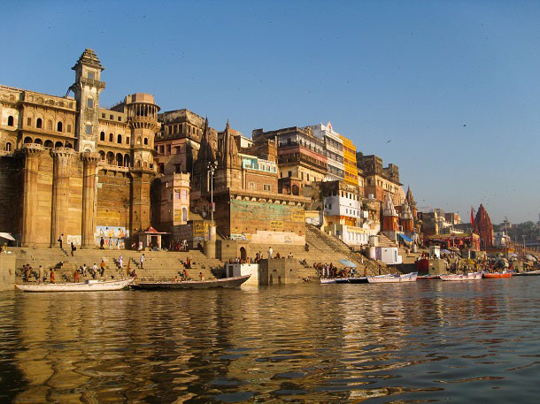 Modern day Varanasi