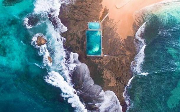 Mona Vale Beach Rock Pool, Australia