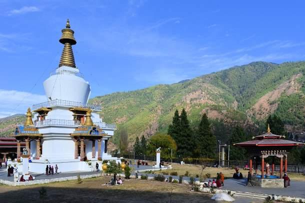 National Memorial Chöten,Thimphu