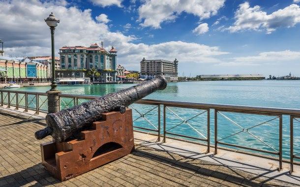 Old cannon, Mauritius