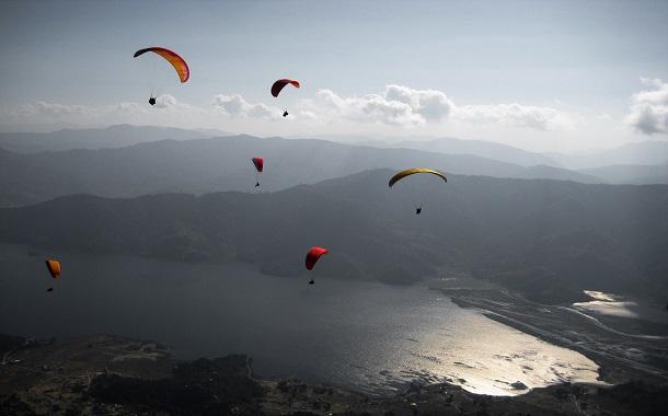 Paragliding in Kerala