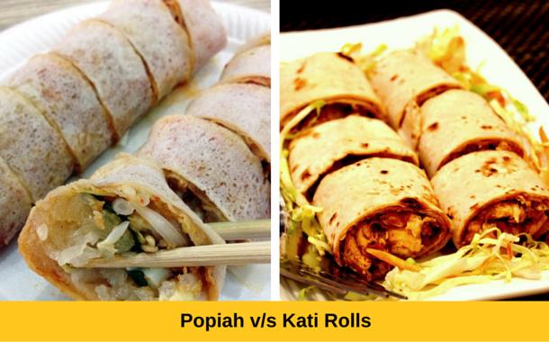 Popiah vs Kati Rolls