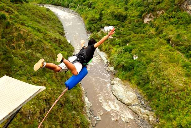 Bungee Jumping at Rishikesh