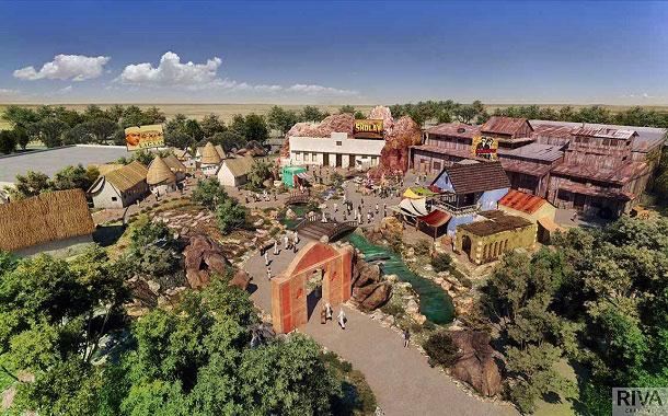 Rustic Ravine, Bollywood Parks
