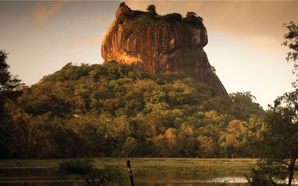 Sirigriya Rock, Sri Lanka