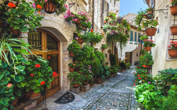 Spello in Italy
