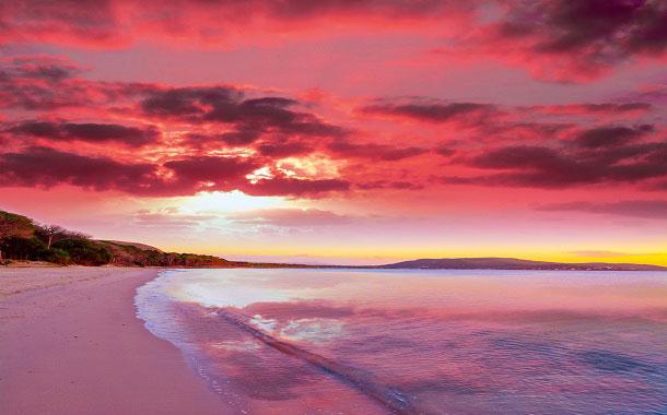 Spiaggia Rosa, Sardinia Italy