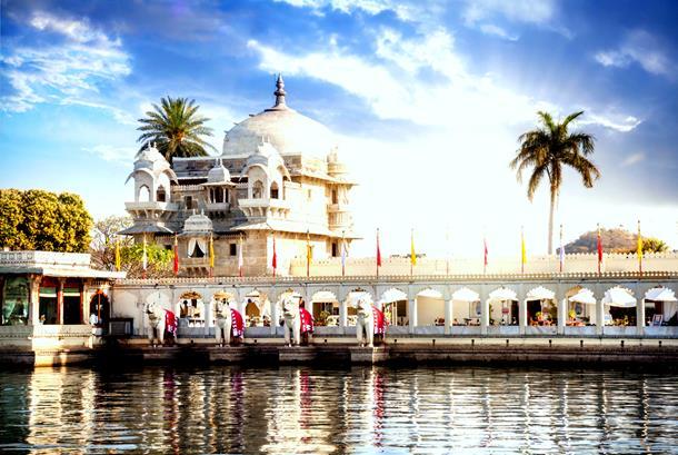 Summer Palace at Jag Mandir Island