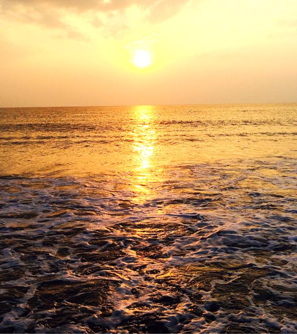 Sun set in Phuket