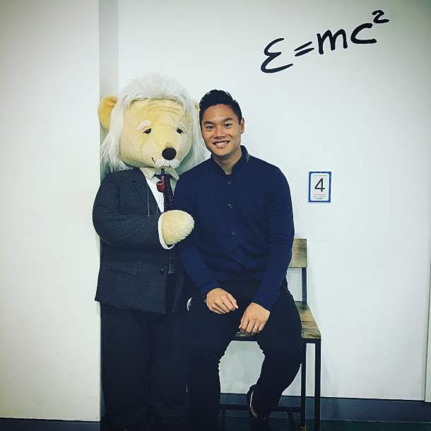 Teddy bear of Einstein