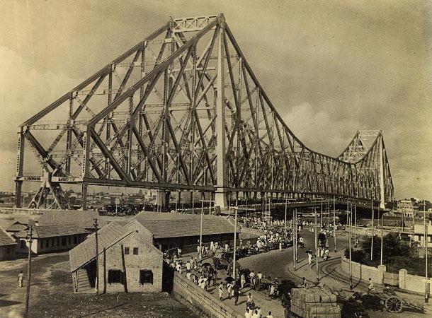 The old Howrah Bridge, Kolkata
