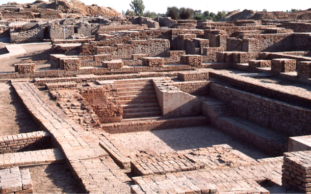 The ruins of Mohenjo-Daro, Pakistan