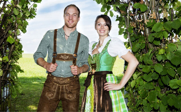 Traditional Oktoberfest outfits