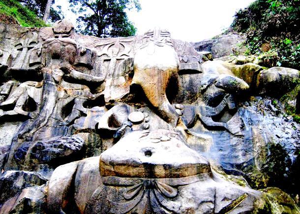 Unakoti hills, Tripura