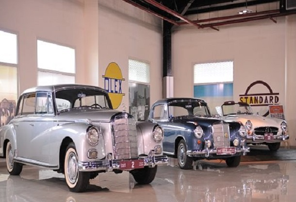 Vintage cars, Sharjah Museum
