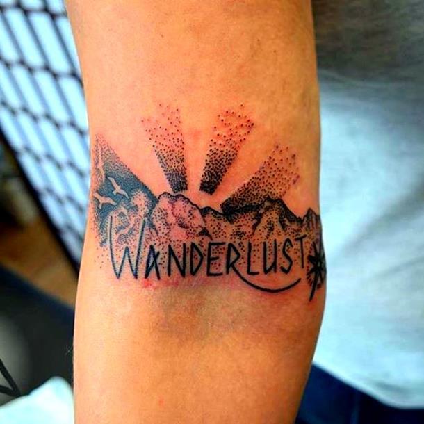 wanderlust tattoo version 1