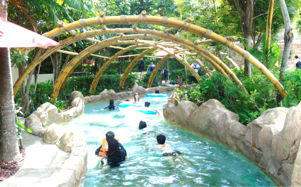 The Lazy River, Adventure Cove Water Park