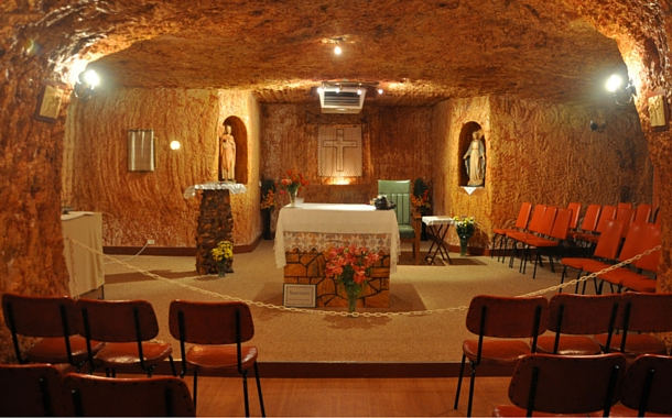 The underground church of Coober Pedy
