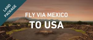 Fly to USA via Mexico