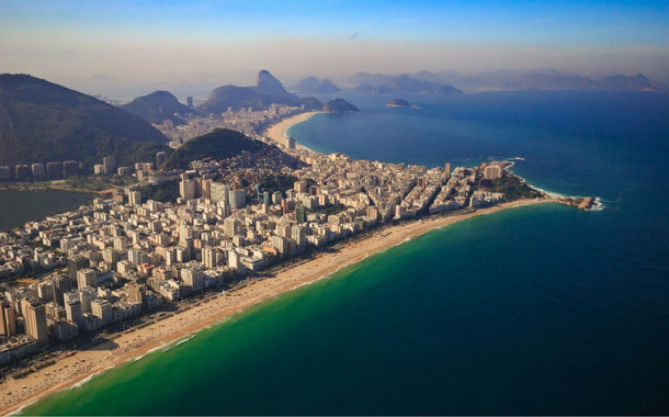 Aerial View of Ipanema