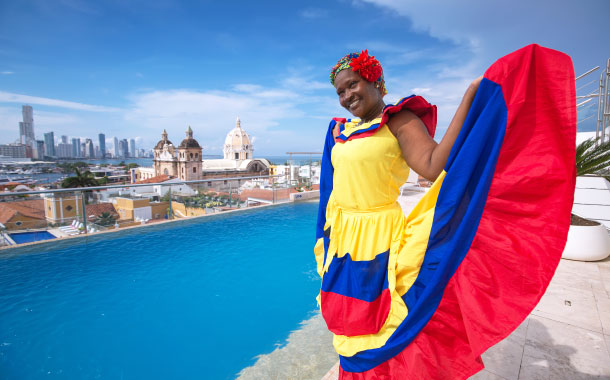 Colombian costume