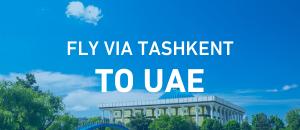 Fly to UAE via Tashkent